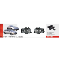 Противотуманные фары Vitol TY-020 Toyota Corolla 2003 эл.проводка